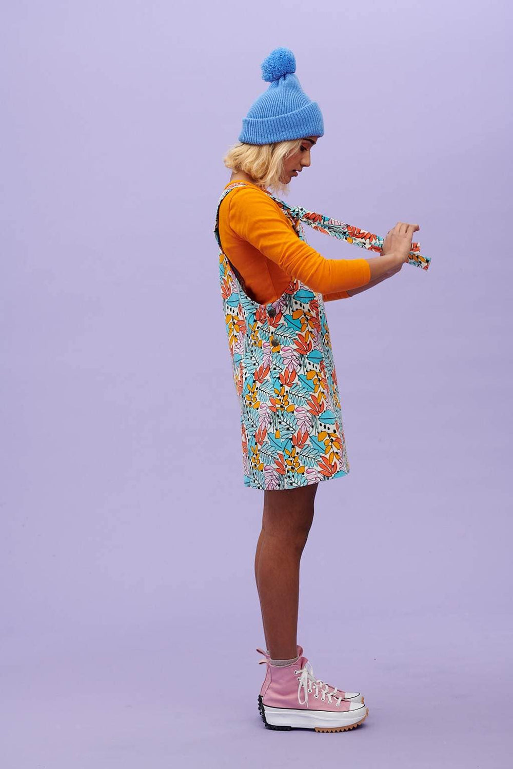 Lucy & Yak Dress Mini Pini Dress In Eden Print