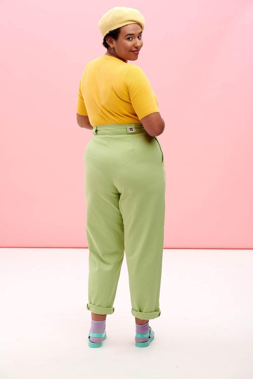 Lucy & Yak jeans Addison Jeans In Sap Green