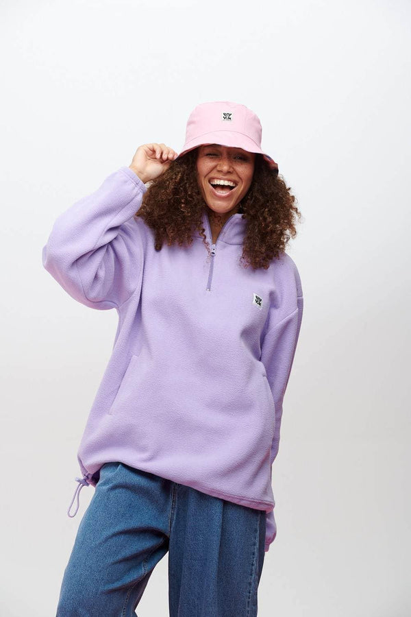 Lucy & Yak Fleeces Stevie Cosy Fleece in Orchid Bloom Lilac