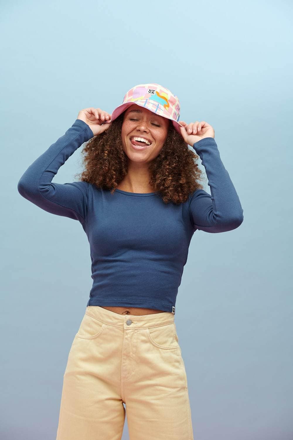 Lucy & Yak Hat Travis Bucket Hat In Zachary Print