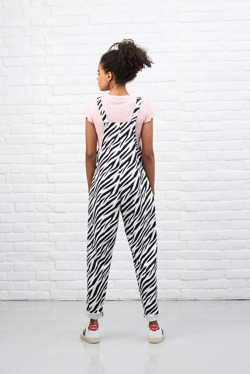 Lucy & Yak Dungarees 'Zebra' Limited Edition Dungarees