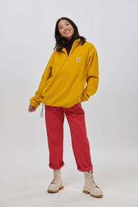 Lucy & Yak Tops 'Stevie' Fleece In Mustard
