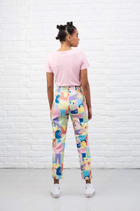Lucy & Yak trousers 'Bernice' by Meg Garrod Limited Edition Trousers