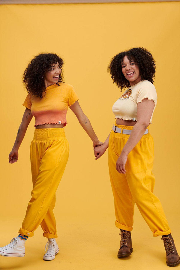 Lucy & Yak trousers Alexa Trousers In Artisans Gold