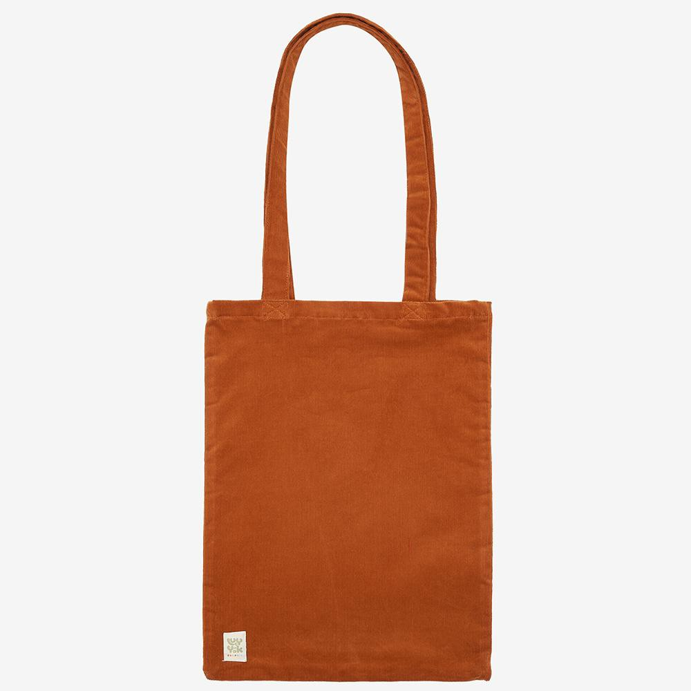 Lucy & Yak Bag ♻️'Idly' Recycled Corduroy Tote Bag in Rust Orange ♻️