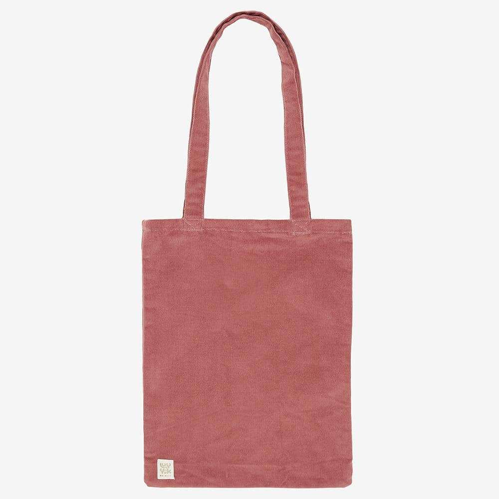 ♻️'Idly' Recycled Corduroy Tote Bag in Ash Pink ♻️