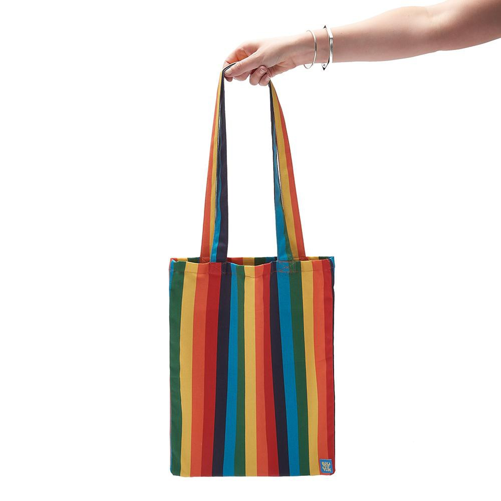 Lucy & Yak Bag ♻️'Idly' Recycled Limited Edition Rainbowz Tote Bag ♻️