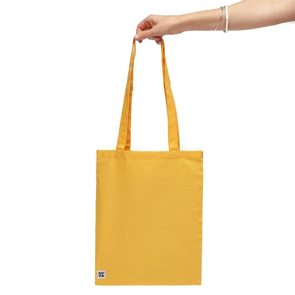 Lucy & Yak Bag 'Idly' Recycled Cotton Tote Bag In Artisans Gold
