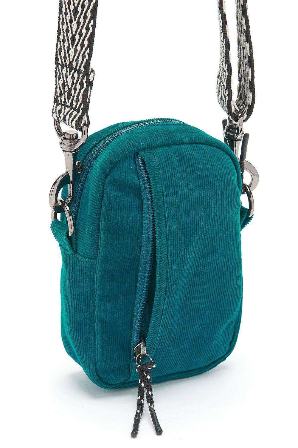 Lucy & Yak Bag 'Brady' Mini Cross Body Bag in Teal
