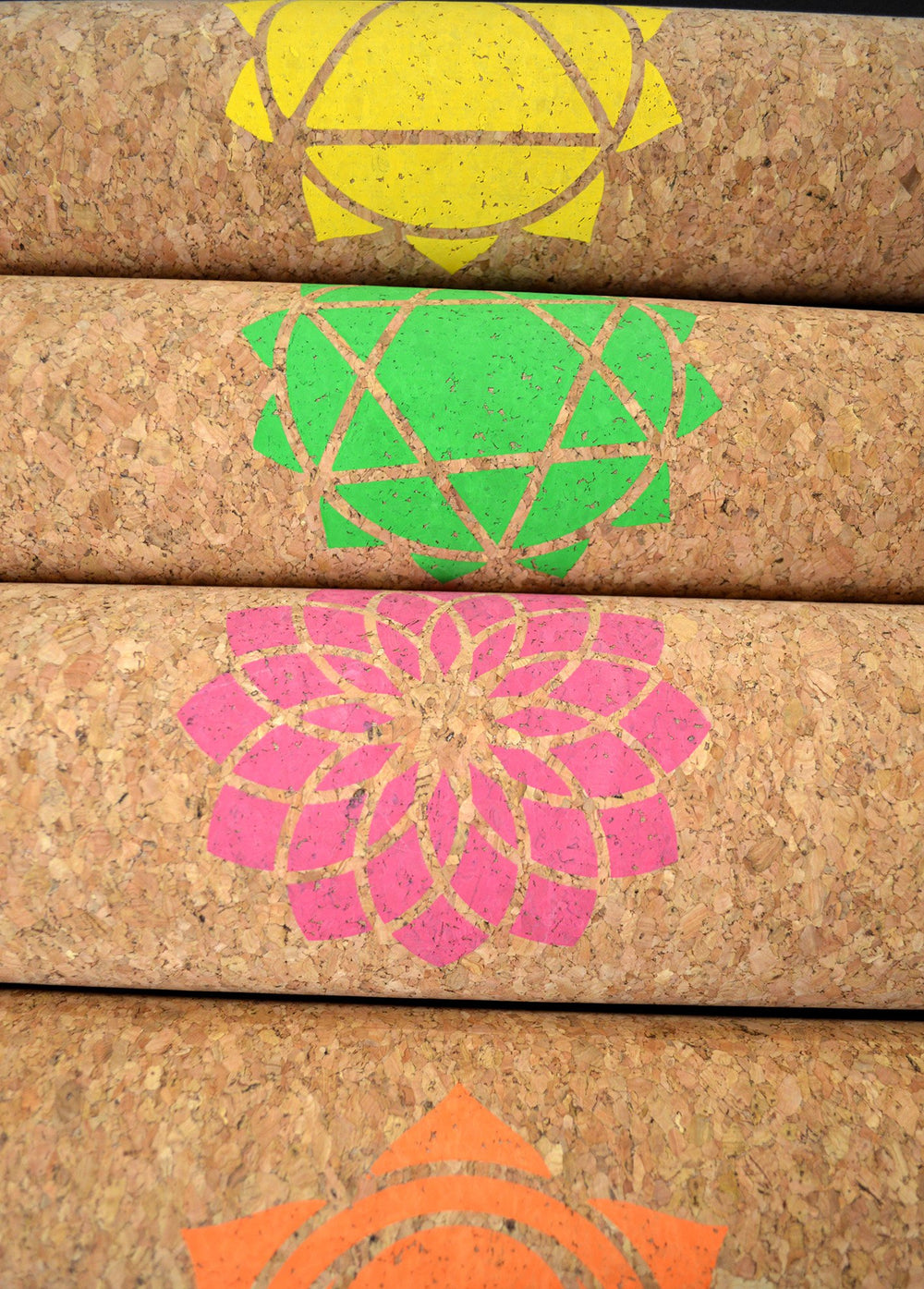Cork Travel Yoga Mat - by Orenda India