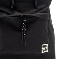 Lucy & Yak Bag Finley Drawstring Backpack in Black