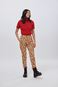 Lucy & Yak trousers 'Evans' Trousers In Box Print