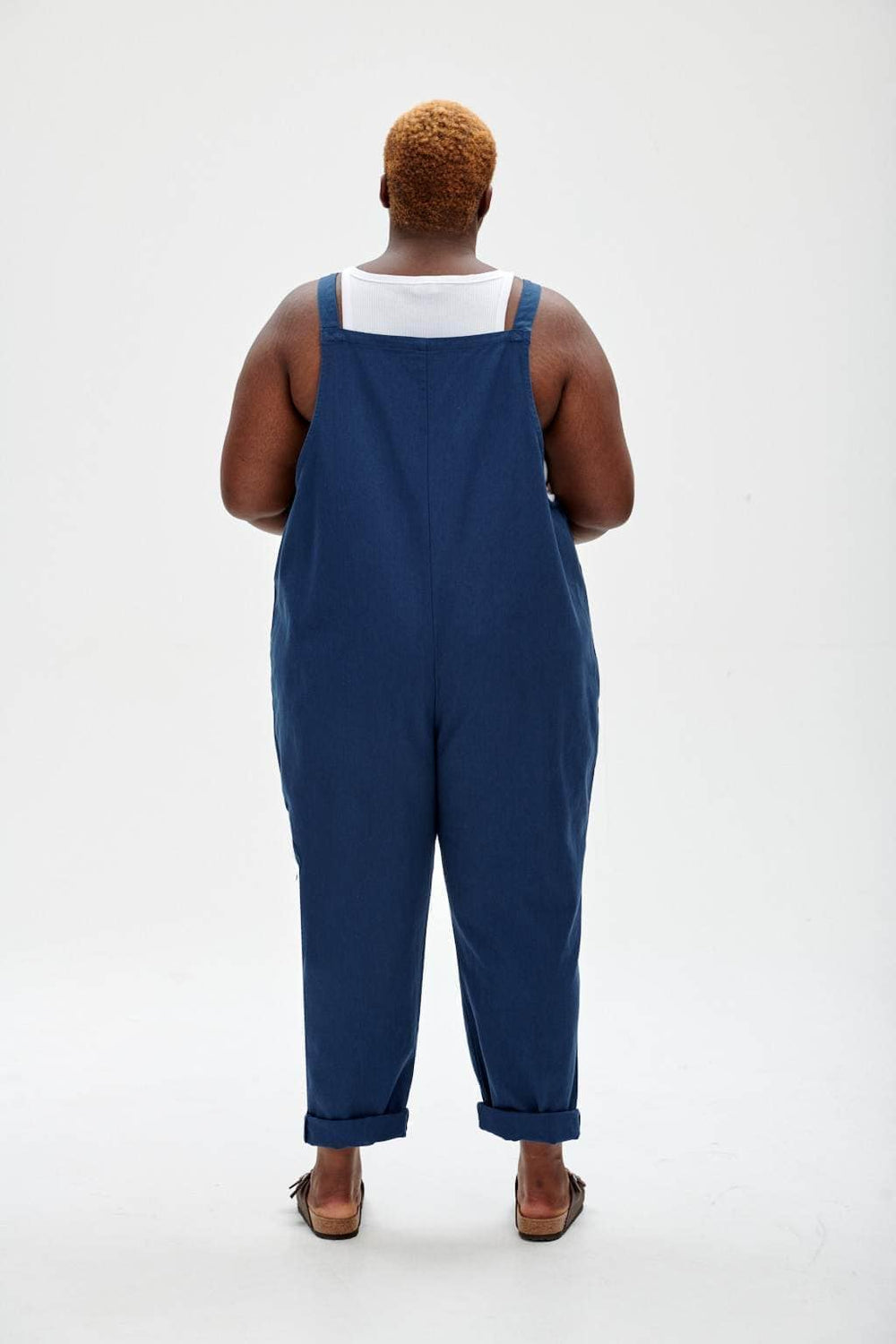 Lucy & Yak Dungarees Easton - Organic Dungarees In Light-Wash Blue Denim
