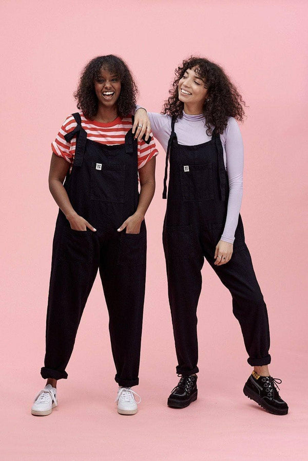 Lucy & Yak Dungarees Atlas Dungarees In Black