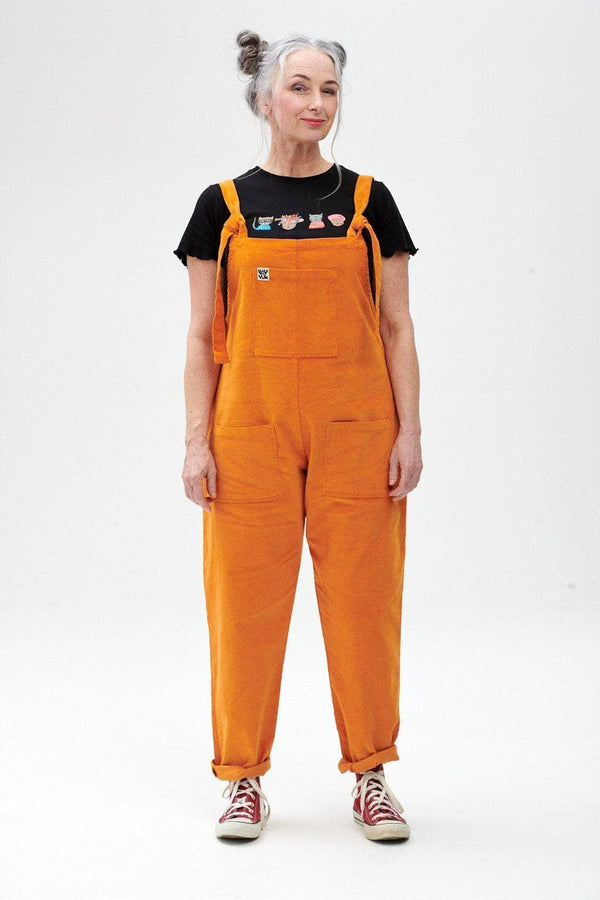 Lucy & Yak Dungarees The Organic Original Corduroy Dungarees in Maple