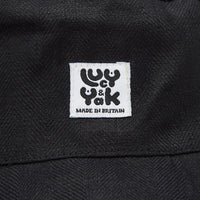 Lucy & Yak Hat Travis Bucket Hat in Black Made in Britain