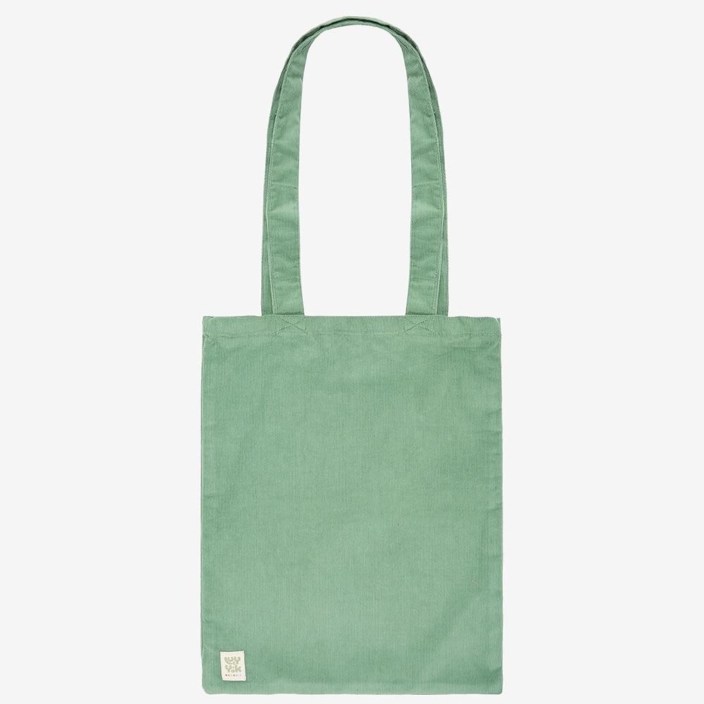 Lucy & Yak Bag ♻️'Idly' Recycled Corduroy Tote Bag in Mint Green ♻️