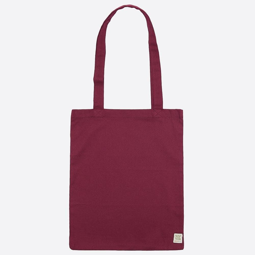 Lucy & Yak Bag ♻️ Recycled Tote Bag in Maroon ♻️