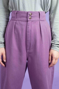 Lucy & Yak jeans Addison High Waisted Jeans In Grape
