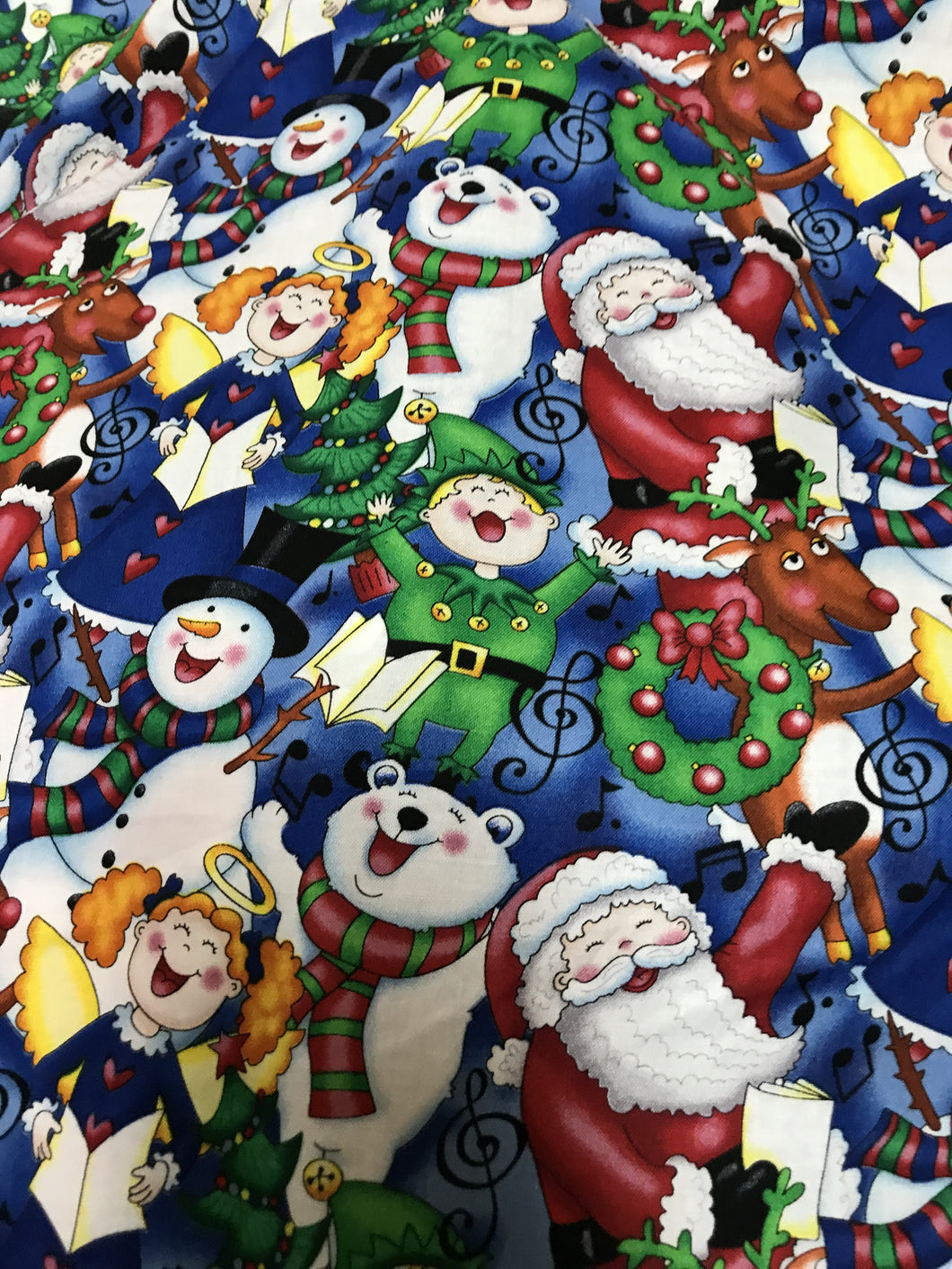 Christmas People Fabric