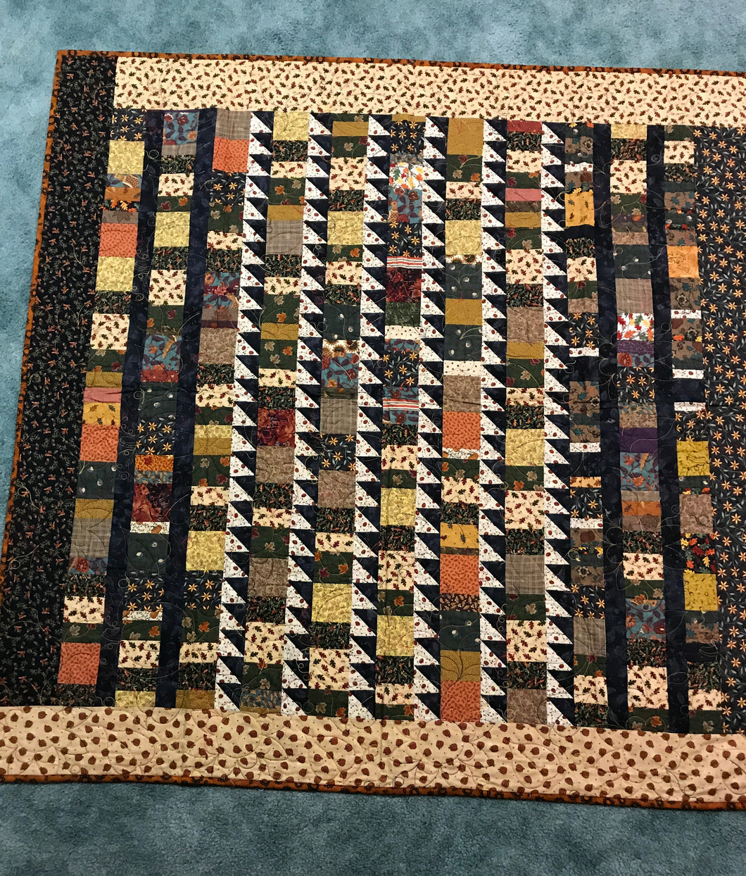 Fall Theme Quilt 58x58