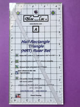 Bloc Loc Half-Rectangle Triangle (HRT) Large Ruler Set