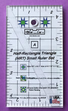 Bloc LocHalf-Rectangle Triangle (HRT) Small Ruler Set