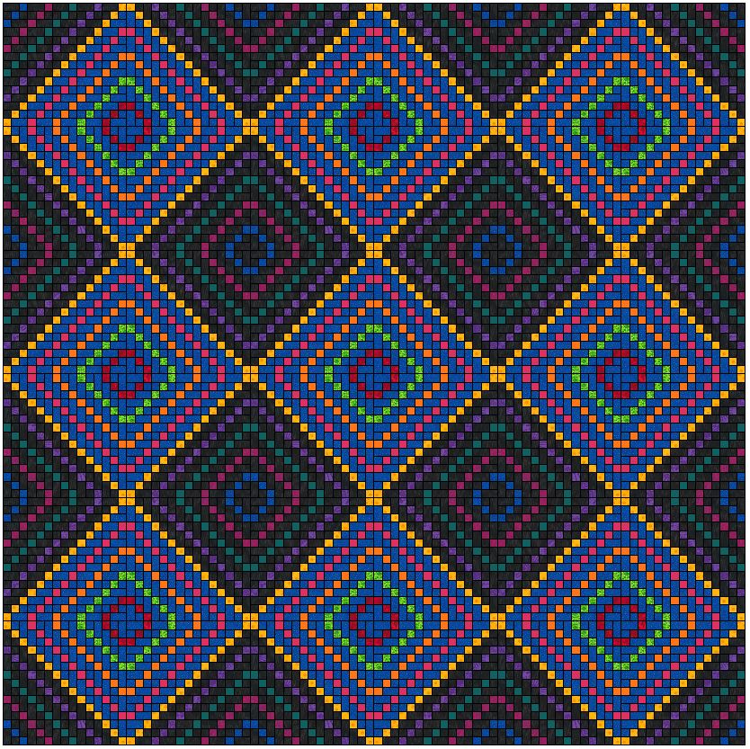 Mirror Lake Quilt Pattern
