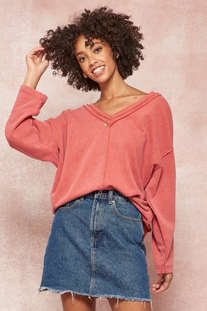 Sadie French Terry Top