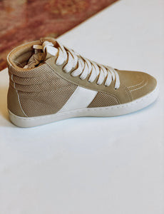 Almond High Top Sneaker