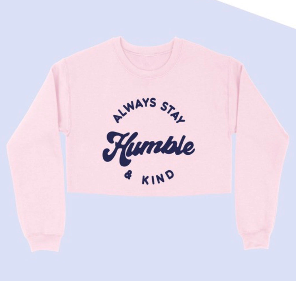 Humble + Kind Crop (pink)