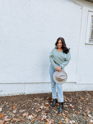 Sage Sweater Top