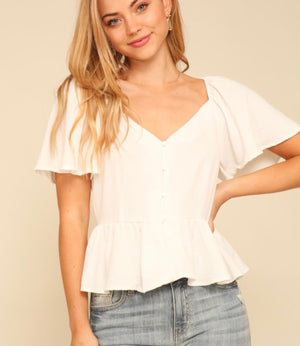 Biloxi Top (white)
