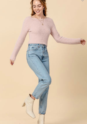 Nate Sweater (pink)