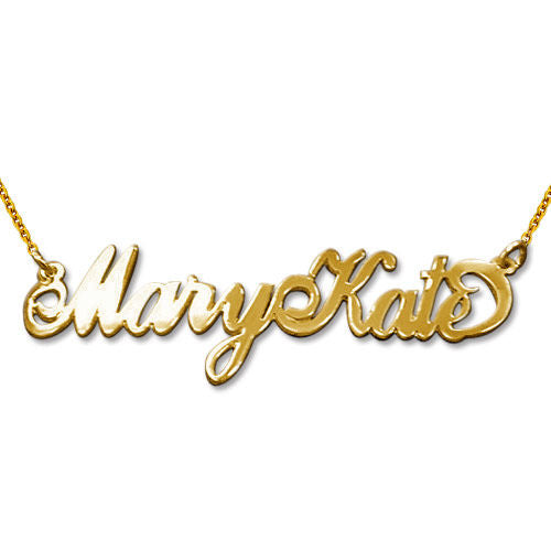 Carrie Name Necklace with Two (2) Capital Letters