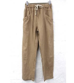 Luxe Pants - Camel