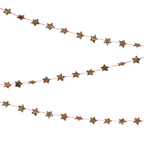 Meri Meri Garland - Mini Stars Gold