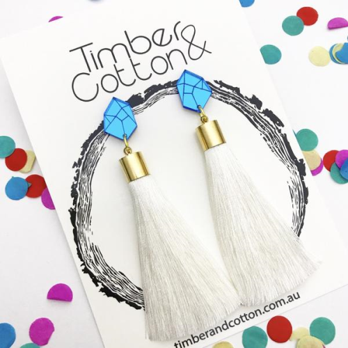 Timber & Cotton 'Shake Your Tassel' Dangles