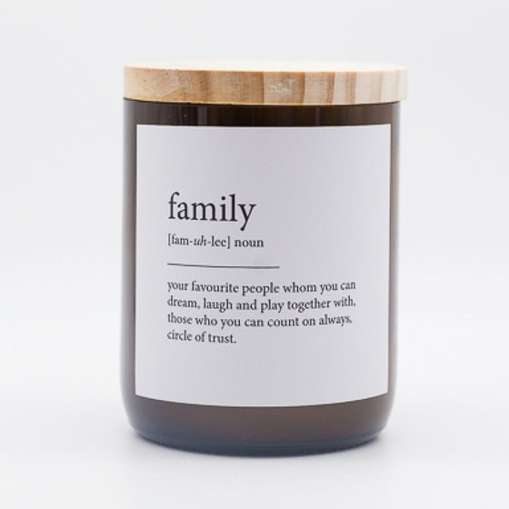 The Commonfolk Traders - Family Candle