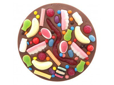 Freckleberry Giant Milk Choc Lolly Pizza
