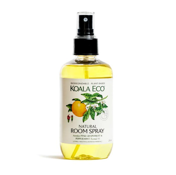 Koala Eco Natural Room Spray Pink Grapefruit & Peppermint - 250ml