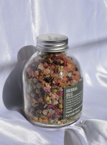 Herbal Bath Soak - A Herbal Hug