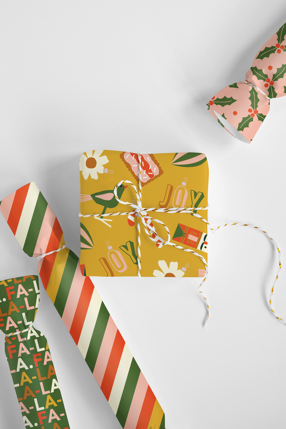 'Merry Merry' Christmas Wrapping Paper