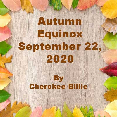 Autumn Equinox September 22, 2020