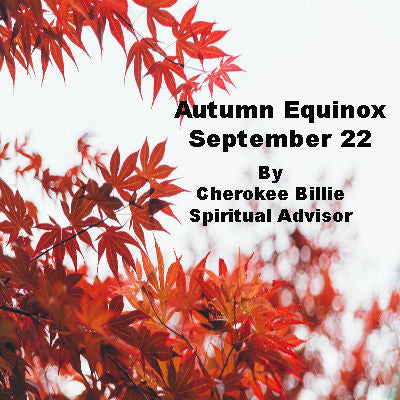 Autumn Equinox September 22, 2019