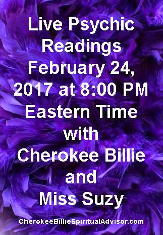 Live Psychic Readings Friday February 24, 2017