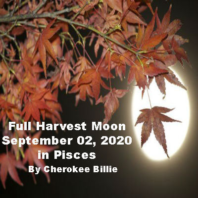 Full Harvest Moon September 02, 2020 in Pisces