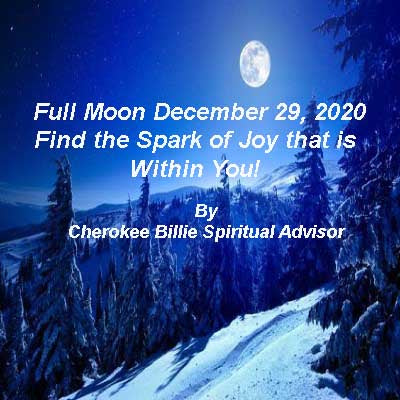 Full Moon December 29, 2020 in Cancer