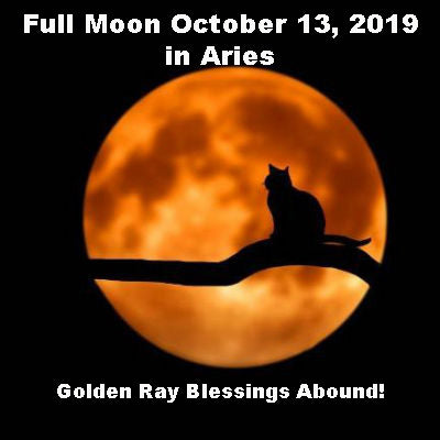 Full Moon October 13, 2019 in Aries