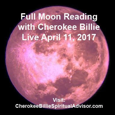 Full Moon Reading Class with Cherokee Billie